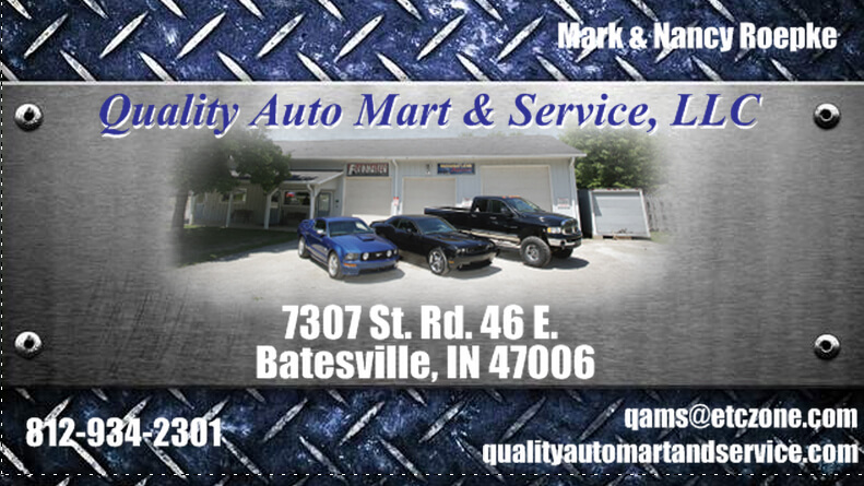 The Napoleon State Bank Quality Auto Mart Service Llc