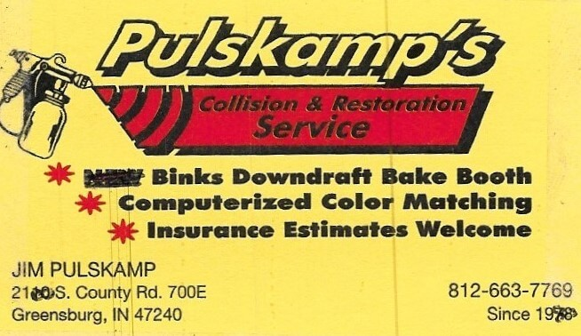 Pulskamp's Auto Body and Restoration Service Logo
