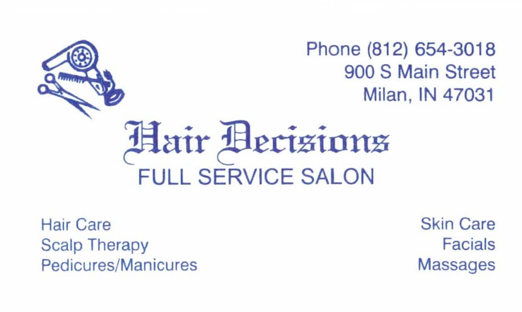 Hair Decisions Logo