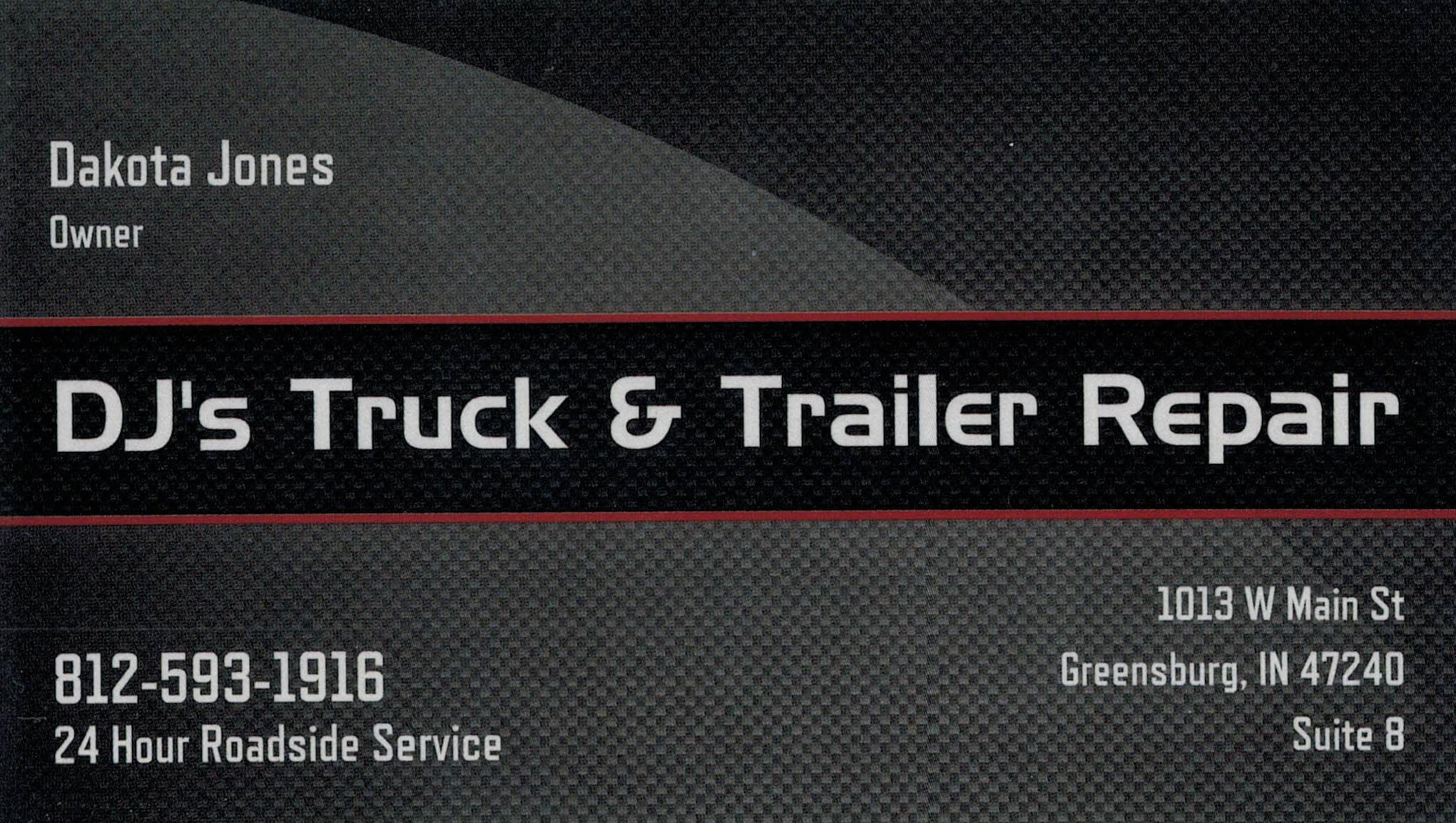 DJ's Truck & Trailer Repair LLC Logo