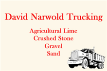 David Narwold Trucking Logo