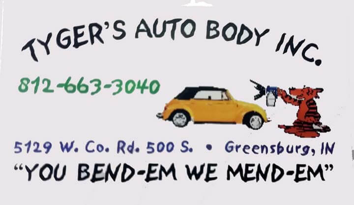 Tyger's Auto Body, Inc. Logo
