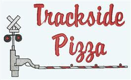 Trackside Pizza Logo
