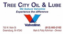 Tree City Oil and Lube Logo