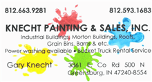 Knecht Painting & Sales, INC Logo